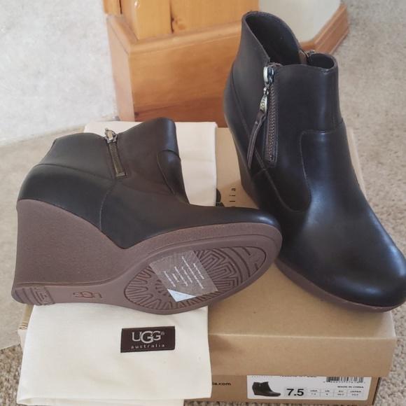 UGG Shoes - UGG Meredith wedge booties